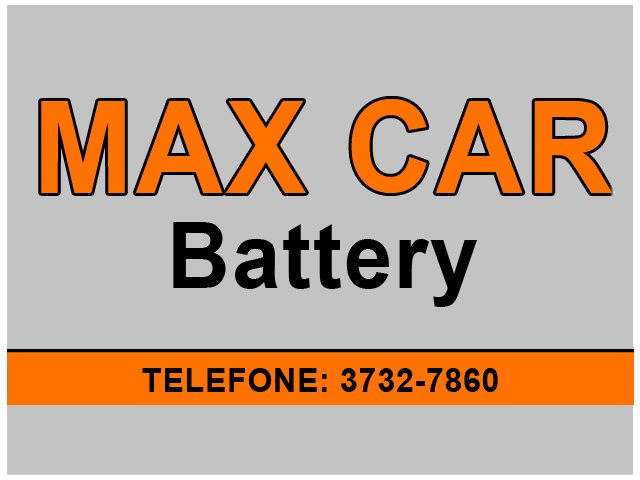Max Car Battery - Baterias Veiculares